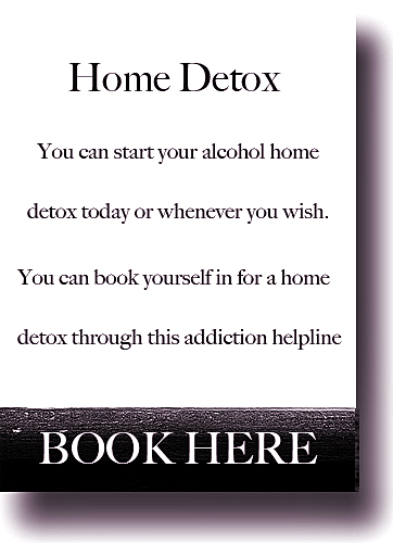 Drug abuse home detox